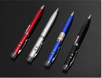 Wholesale Mini Led laser pen torch AAA Battery LED Light Source laser pointer uv light led flashlight torch laser point pen