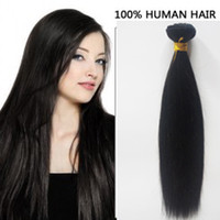 Wholesale Brazilian Russian human hair weft inch Natural Color Malaysian hair straight Indian Remy Unprocessed Virgin Human Hair Extensions DHgate