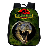 Wholesale Sales Promotion Fashion Printing Animal Dinosaur Kids Baby Bags Children School Bag for Kindergarten Backpack Boys Schoolbag