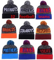 Wholesale 2016 New Beanies Hats American Football team Beanies Sports Beanie Knitted Hats drop shippping Snapbacks Hats mix order album offered