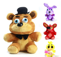 baby stuff - Hot game Five Nights At Freddy s plush toys FNAF Freddy Foxy stuffed animals Fox Toys Doll for baby kids christmas dolls