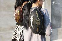 Wholesale Creative Football Messenger Bags single shoulder bag Portable Chest pack colors for choice