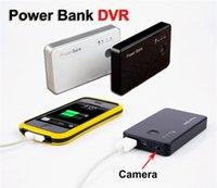 Wholesale 16GB Hd x720P Spy Mobile Power Bank Camera Hidden Mini Power Bank DVR Portable Micro Camera Security Video Camera
