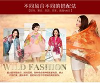 air story - The story of Shanghai long lost hand painted cashmere scarf Sunscreen scarves large beach towels insect bites air conditioning shawls