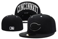 baseball field sizes - new style Men Cincinnati Reds Fitted Hats embroidered Team Logo Women s Sport Baseball On Field Full Closed Caps Fashion Hip Hop Sized Hats
