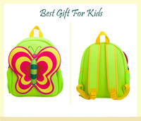 Wholesale Kids Backpack Toddler Backpacks Children Schoolbags colours Butterfly cm Gift For Toddlers and Children years old Girls