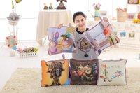 Wholesale Zootopia Blanket Kids Blanket Car Cushion Zootopia Cartoon Cushion Pillow Zootopia Pillow Stuffed Plush Zootopia bolster Zootopia Quilt