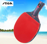 Wholesale original STIGA carbon Carbo layers WRB CR senior Blue sponge Table tennis rackets two pimples pimples in rubbers