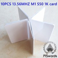 access blank - blank NFC Smart card For ACR122U NFC RFID card M1 mhz s50 K iso14443 Card Access Control System