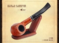 Cheap Men's Smoking Pipes High quality briar Moer oil rigs Gift box Packaging wholesale