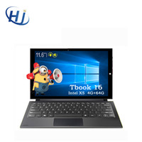 Wholesale Teclast Tbook Tbook16 quot in Dual OS Windows Android Tablet PC Intel Cherry Trail Atom X5 Z8300 GB GB HDMI
