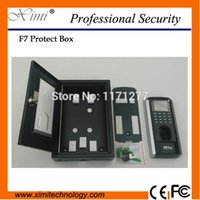access box covers - safety metal box F7 fingerprint access control protect box protect cover
