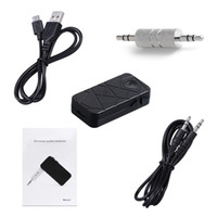 Wholesale Bluetooth Receiver Adapter Wireless mm Stereo Output for Car Phone Music