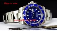 Wholesale 2016 Luxury Watches Sapphire Blue Dial CERAMIC Bezel Automatic Sport Mens Watch Men s Wrist Watches