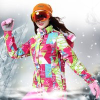 Wholesale new high quality women s fashion ski suit waterproof outdoor sports ski jacket warm snowboard