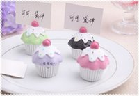 baby card designs - 100pcs Delicious Cupcake Design Place Card Holders Baby Party Decoration Favors