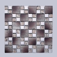 Wholesale Factory direct D metal mosaic living room backdrop wall decoration decoration sales
