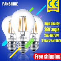 Free low energy light bulbs UK | Free UK Delivery on Free Low ...:2016 new LED Filament bulb dimmable A55 A17 120v 220V 2w 4w energy-saving  light replace Incandescent lamp 360 degree free shipping low price,Lighting