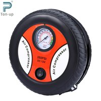 Wholesale Tyre Shape V PSI Electric Car Inflatable Pump Portable Air Compressor Tire Inflator for Car Bicycle Tire Balls Airbeds