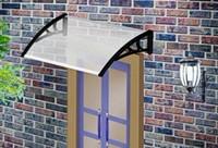 Wholesale DS80100 P x100cm Depth cm Width cm New Design House Window Awning Black White Grey Plastic Awnings