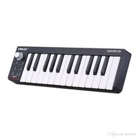 Wholesale High Quality Easykey Portable Mini Key Keyboard MIDI Controller with Durable USB Cable and Disk