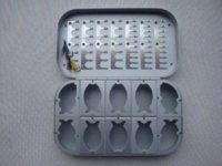 aluminium fly boxes - Best Seller Aluminium Compartment Fly Box waterproof fly box Fishing Tackle Boxes Cheap Fishing Tackle Boxes
