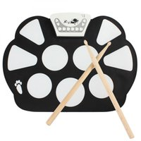 Wholesale W758 Digital Portable Pad Musical Instrument Electronic Roll up Drum Kit