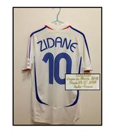 Wholesale 2006 Zidane Jerseys Short sleeves Final one
