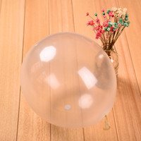 Wholesale inch g standard clear transparent balloons wedding party brithday festival decoration balloon