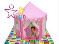 Wholesale princess castle chiffon oversized children s toys Indoor Outdoor ToysChildren Beach Tent