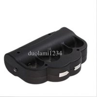 Wholesale new Rechargeable High power Electronic Self Defense Set BLACK COLOR with bag hot sell good free shopping