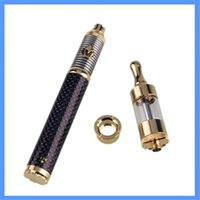 Cheap Electronic cigarette batteries multi-color optional vision gold V2 atomizer gold ring exquisite packaging Adjustable voltage