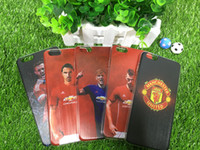 apple varieties - Football Stars ManUtd A Variety of Options TPU cell Phone Cases Cover For IPhone6 s Plus For Samsung galaxy s7 S6 S7 Edge cases hybrid