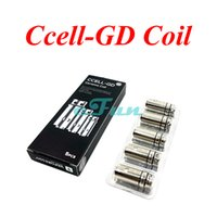 Cheap ORIGINAL Vaporesso Ceramic cCELL Coils CELL-GD SS 0.5ohm cCELL SS 0.6ohm Replacement Coil Head For Vaporesso Target Pro Kit Target Mini Tank