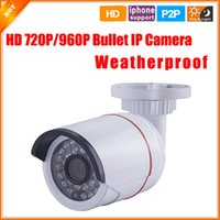 Wholesale Waterproof Outdoor IP Camera HD P P Megapixel Network Camera CCTV LED Wired Camera IP IR Cut Filter P2P