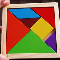 Wholesale Durable Fashion Geometry Wooden Jigsaw Puzzle Kids Children Education Toys For Tots Baby Toy