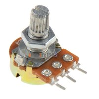 Wholesale K Ohm B1K Knurled Shaft Linear Rotary Taper Potentiometer
