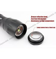 best diving flashlight - Large capacity battery T6 Best selling CREE XML Lumens High PowerZoomable LED Flashlights torch light for xAAA or x18650 battery