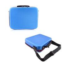 Wholesale 3 quot Shoulder Straps Sun Pattern Portable Organizer System Kit Case Storage Bag Digital Gadget Devices USB Cable Earphone Pen Travel Insert