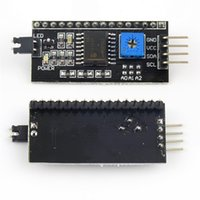 Wholesale Electrical Connectors I2C IIC Serial Interface Board Module LCD1602 Address Changeable for Arduino
