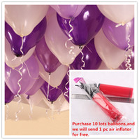 Wholesale Latex Balloons Party Decoration Per Inch Party Balloon Pearl Colors g Birthday Wedding Balloon Wedding Party Supplies
