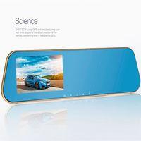 acura tech - car dvd high tech inch Rear view mirror drive recorder HD night vision car recorder P car record car styling