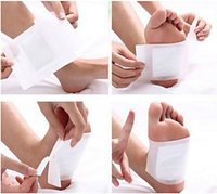 Wholesale 2016 New Cleansing Detox Foot Pads Cleanse Energize Your Body Good Quality set Patches Adhesive sets