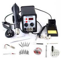 Wholesale YOUYUE AC V V W in SMD Rework Soldering Station Hot Air Gun Solder Iron With Free Gifts For Welding Repair