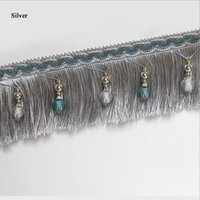 Wholesale 2016 Curtain tassel Lace Accessories Tassel multi color Beads crystal bead Braide Drapery Sewing Textile Decoration stitching in panels