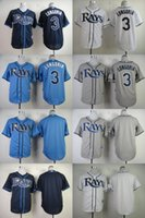 bay collections - 2016 Cool Base Jersey Men s Tampa Bay Rays Evan Longoria Blank White Navy Light Blue Grey Collection Baseball Jerseys