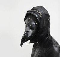 beak costume - Gothic festival supplies bird beak mask black mask halloween mask party mask