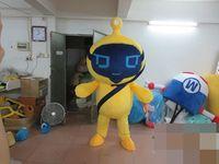 alien fancy dress - Adult Size electronic robot Alien Costume Halloween Christmas OEM Cartoon Mascot Clothing Party Fancy Dress