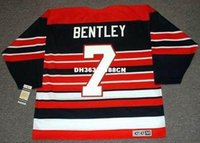 bentley chicago - Cheap custom retro DOUG BENTLEY Chicago Blackhawks s CCM Vintage Jerseys Throwback Jerseys Throwback Mens stitched Hockey Jersey