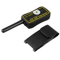 Wholesale 1 XT Dual use Pinpointer Metal Detector Sensitive Hand Held Black yellow